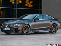 2019 Mercedes-AMG GT 63 S 4-Door Coupe 4Matic+ (X290) = 315 км/ч. 639 л.с. 3.2 сек.