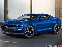 2019 Chevrolet Camaro SS = 250 км/ч. 461 л.с. 4 сек.