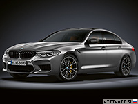 2019 BMW M5 Competition (F90) = 305 км/ч. 625 л.с. 3.3 сек.