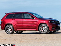 2017 Jeep Grand Cherokee SRT (WK2) = 260 км/ч. 482 л.с. 4.9 сек.