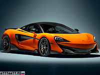 2019 McLaren 600LT = 328 км/ч. 600 л.с. 2.9 сек.