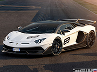 2019 Lamborghini Aventador SVJ = 350 км/ч. 770 л.с. 2.8 сек.