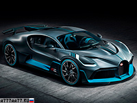 2019 Bugatti Divo = 380 км/ч. 1500 л.с. 2.4 сек.