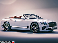 2019 Bentley Continental GT Convertible = 333 км/ч. 635 л.с. 3.8 сек.