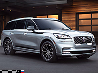 2020 Lincoln Aviator Grand Touring = 210 км/ч. 501 л.с. 5.5 сек.