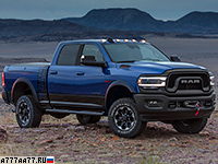 2019 Dodge Ram 2500 Power Wagon = 185 км/ч. 416 л.с. 8.2 сек.