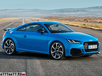 2019 Audi TT RS Coupe = 280 км/ч. 400 л.с. 3.7 сек.
