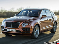 2019 Bentley Bentayga Speed = 306 км/ч. 635 л.с. 3.9 сек.