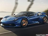 2020 Automobili Pininfarina Battista = 350 км/ч. 1900 л.с. 1.9 сек.
