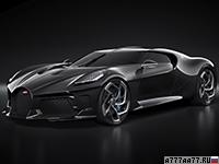 2019 Bugatti La Voiture Noire = 420 км/ч. 1500 л.с. 2.4 сек.