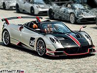 2020 Pagani Huayra Roadster BC = 370 км/ч. 802 л.с. 2.8 сек.