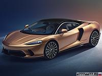 2020 McLaren GT = 326 км/ч. 620 л.с. 3.2 сек.