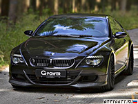 2010 BMW M6 G-Power Hurricane RR = 370 км/ч. 800 л.с. 4.4 сек.
