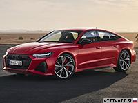 2020 Audi RS7 Sportback = 305 км/ч. 600 л.с. 3.6 сек.