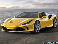 2020 Ferrari F8 Spider = 340 км/ч. 720 л.с. 2.9 сек.