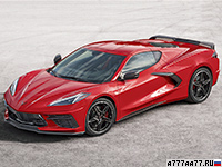 2020 Chevrolet Corvette Stingray Z51 (C8) = 306 км/ч. 502 л.с. 3 сек.