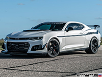 2020 Chevrolet Camaro ZL1 1LE Hennessey The Resurrection = 354 км/ч. 1216 л.с. 2.4 сек.