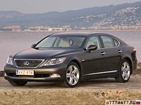 2006 Lexus LS 460 (USF40) = 250 км/ч. 380 л.с. 5.7 сек.