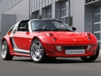 2003 Smart Brabus Roadster Coupe V6 BiTurbo = 225 км/ч. 170 л.с. 5.8 сек.