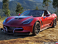 2019 Chevrolet Corvette GXE by Genovation (C7) = 341 км/ч. 811 л.с. 3.2 сек.