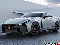 2021 Nissan GT-R50 Italdesign = 330 км/ч. 720 л.с. 2.6 сек.