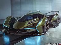 2019 Lamborghini Lambo V12 Vision Gran Turismo = 350 км/ч. 819 л.с. 2.5 сек.