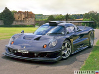 1997 Lotus Elise GT1 = 378 км/ч. 575 л.с. 3.2 сек.