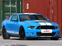 2010 Ford Mustang Shelby GT GeigerCars = 354 км/ч. 810 л.с. 3.9 сек.