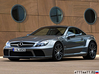 2008 Mercedes-Benz SL 65 AMG Black Series = 320 км/ч. 670 л.с. 3.9 сек.