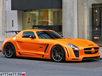 2011 Mercedes-Benz SLS AMG FAB Design Gullstream = 325 км/ч. 615 л.с. 3.6 сек.