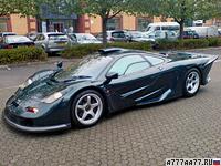 1997 McLaren F1 GT  Longtail = 391 км/ч. 620 л.с. 3 сек.
