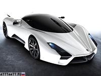 2011 SSC Tuatara Concept = 400 км/ч. 1350 л.с. 2.5 сек.