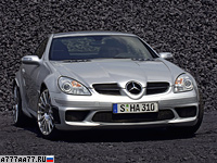 2007 Mercedes-Benz SLK 55 AMG Black Series = 280 км/ч. 400 л.с. 4.5 сек.