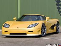 2004 Koenigsegg CCR = 388 км/ч. 817 л.с. 3.2 сек.