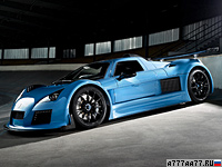 2011 Gumpert Apollo S = 360 км/ч. 750 л.с. 3 сек.