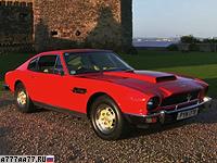 1977 Aston Martin V8 Vantage = 263 км/ч. 396 л.с. 5.2 сек.