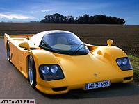 1994 Dauer 962 Le Mans Porsche = 402 км/ч. 730 л.с. 2.7 сек.