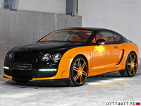 2008 Bentley Continental GT Le Mansory = 330 км/ч. 650 л.с. 4.6 сек.