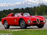 1953 Alfa Romeo 6C 3000 CM Colli Spider = 250 км/ч. 275 л.с. 7 сек.