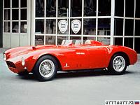 1953 Lancia D24 Pininfarina Spider Sport = 265 км/ч. 265 л.с. 5.2 сек.