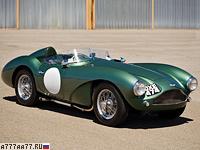1954 Aston Martin DB3S = 233 км/ч. 225 л.с. 6.5 сек.