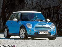 2001 Mini Cooper S = 214 км/ч. 163 л.с. 7.6 сек.