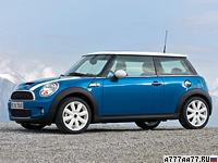 2007 Mini Cooper S = 221 км/ч. 175 л.с. 6.7 сек.