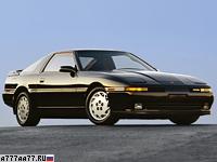 1986 Toyota Supra Turbo MkIII = 232 км/ч. 232 л.с. 6.2 сек.