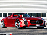 2012 Mercedes-Benz SLS AMG Roadster FAB Design Jetstream = 325 км/ч. 607 л.с. 3.6 сек.