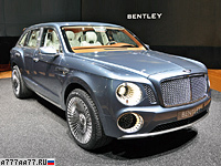 2012 Bentley EXP 9 F Concept = 300 км/ч. 621 л.с. 5 сек.