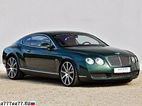 2009 Bentley Continental GT MTM Birkin Edition = 331 км/ч. 650 л.с. 4.2 сек.