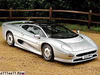 1991 Jaguar XJ220 = 359 км/ч. 550 л.с. 3.6 сек.