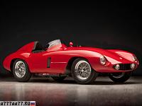 1954 Ferrari 750 Monza = 260 км/ч. 260 л.с. 5 сек.