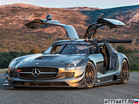 2012 Mercedes-Benz SLS AMG GT3 45th Anniversary = 300 км/ч. 550 л.с. 3.5 сек.